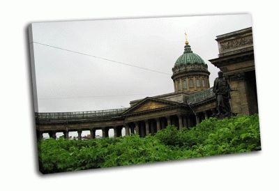 Картина казанский в зелени