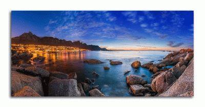 Картина кейптаун, столовая гора