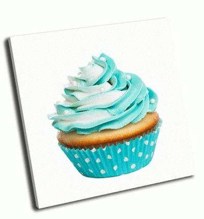 Картина кекс с кремом из сливочного масла
