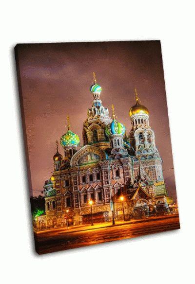 Картина храм воскресения христова