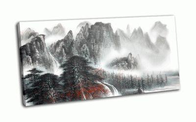 Картина китайский пейзаж