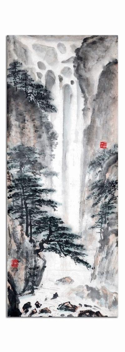 Картина китайский пейзаж-живопись