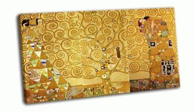 """Картина климт густав - """"ожидание — древо жизни — свершение"""""""