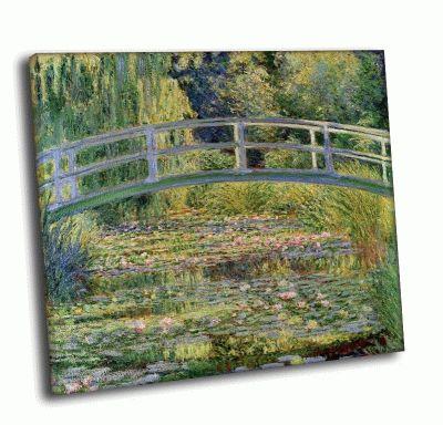 Картина клод моне - «пруд с кувшинками»