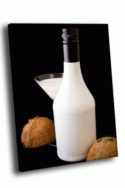 Картина кокосовый коктейль