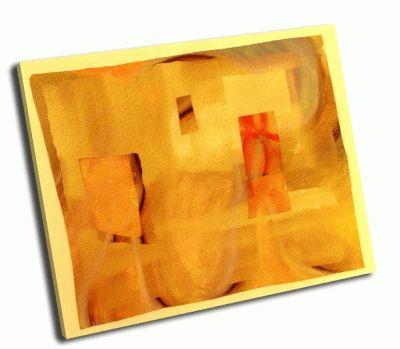 Картина коллаж-пастел