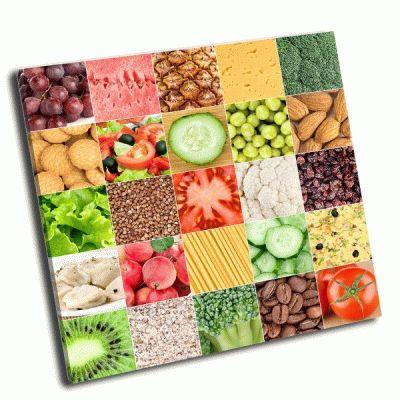 Картина коллекция здоровое питание