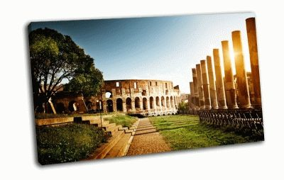 Картина колонны колизея