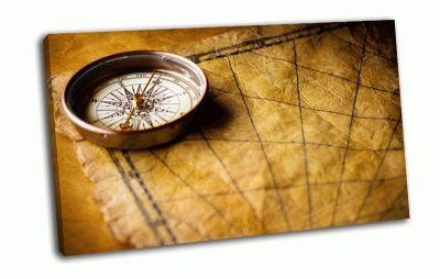 Картина компас
