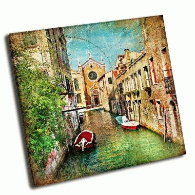 Картина красивая венеция, живопись