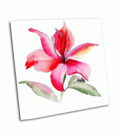 Картина красивые цветы лилии
