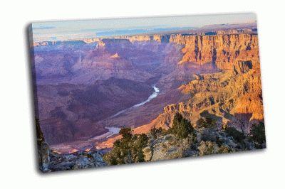 Картина красивый пейзаж,  гранд-канон