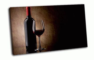 Картина красное вино