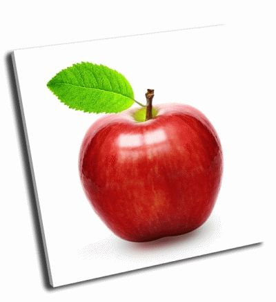 Картина красное яблоко
