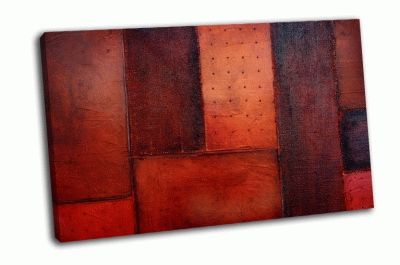 Картина красновато-оранжевая абстракция