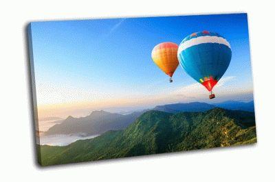 Картина красочные воздушные шары