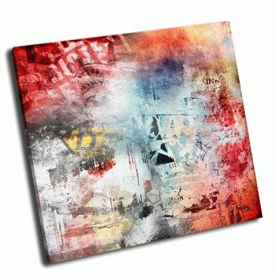 Картина красочный фон гранж