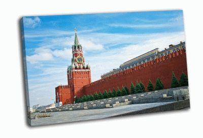 Картина кремль москва