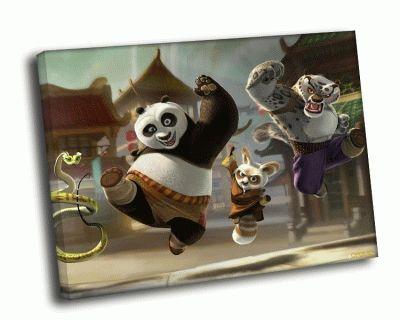 Картина кунг-фу панда