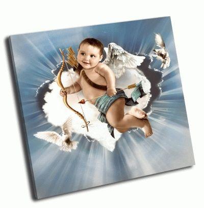 Картина купидон с крыльями ангела