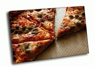 Картина кусочки пиццы