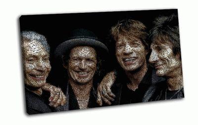 Картина легенда рока rolling stones