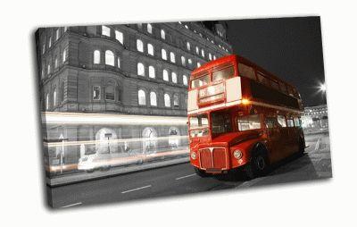 Картина лондонский автобус