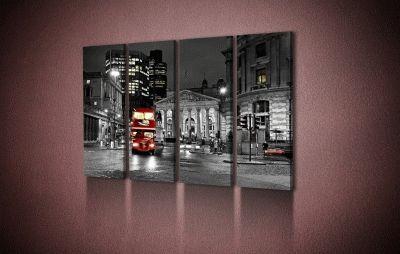 Картина лондонский красный автобус