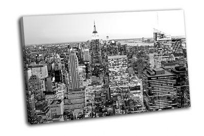 Картина манхэттен в нью-йорке, сша