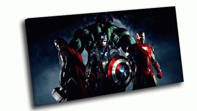 Картина marvel четверка мстителей