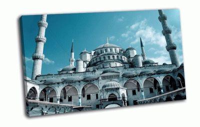 Картина мечеть султанахмет