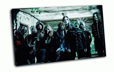 Картина металл группа слипнот
