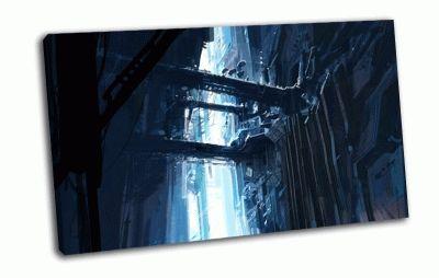 Картина металлическая конструкция
