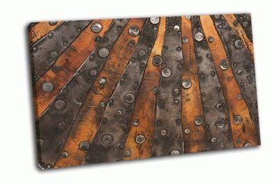 Картина металлическая текстура