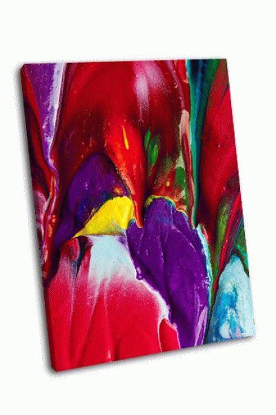 Картина многоцветный фон