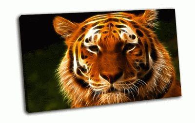 Картина морда тигра