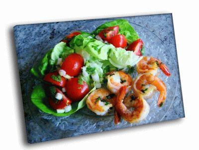 Картина морской салат
