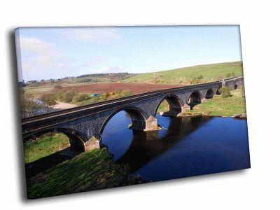 Картина мост, арки