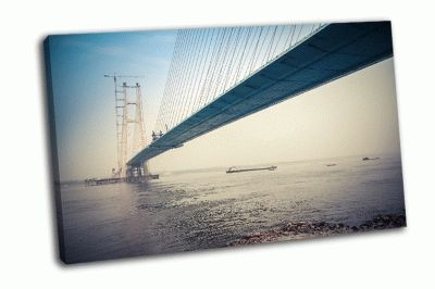Картина мост через реку янцзы