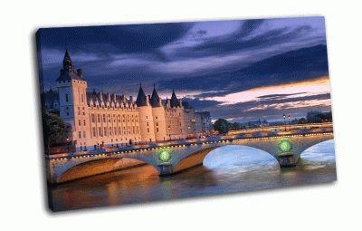 Картина мост менял в париже