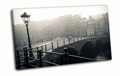 Картина мост в амстердаме