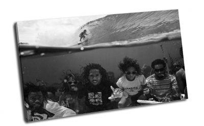 Картина музыка под водой