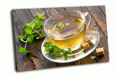 Картина мятный чай