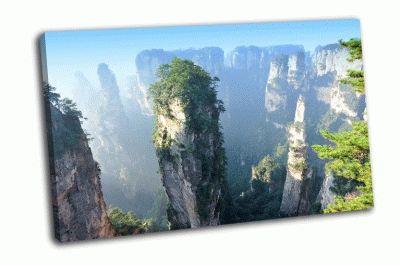 Картина национальный парк чжанцзяцзе