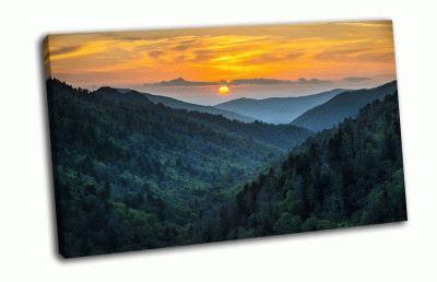 Картина национальный парк грейт-смоки-маунтинс