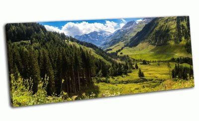 Картина национальный парк хоэ-тауэрн, австрия