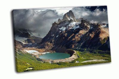 Картина национальный парк лос-гласьярес