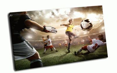 "Картина ""не"" детский футбол"