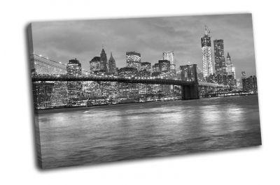 Картина нью-йорк бруклинский мост