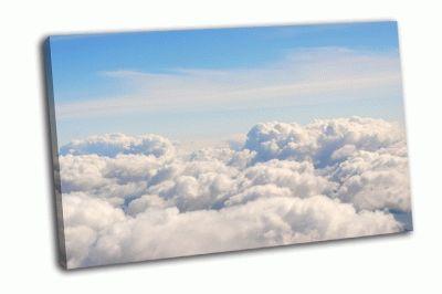 Картина облака и небо